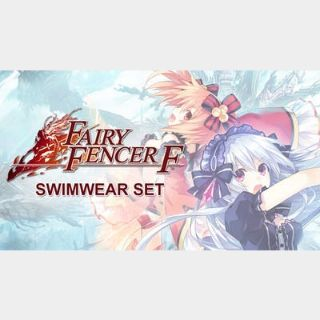 ✔️Fairy Fencer F: Swimwear Set