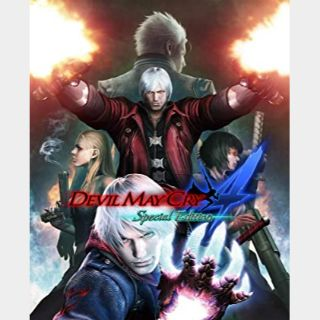 ✔️Devil May Cry 4: Special Edition