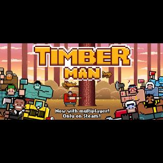 ✔️ Timberman - Steam Key