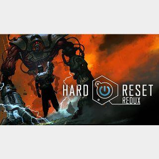 ✔️Hard Reset Redux