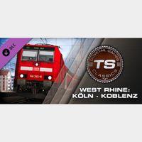 ✔️Train Simulator: West Rhine: Köln - Koblenz Route Add-On