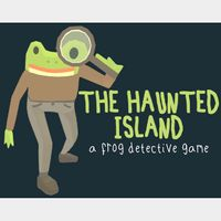 ✔️The Haunted Island, a Frog Detective Game