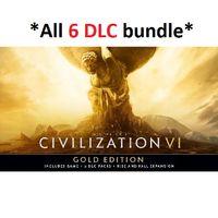 ✔️Sid Meier's Civilization VI Gold Edition (All 6 DLC)
