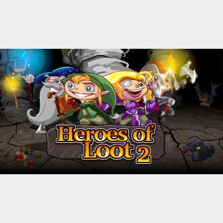 ✔️ Heroes of Loot 2 - Steam Key