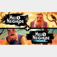 Hello Neighbor + Hello Neighbor Hide and Seek Collection