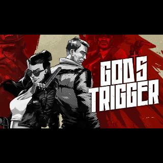 ✔️God's Trigger - Steam Key