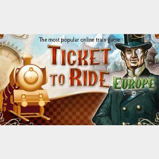 ✔️Ticket to Ride - Europe (DLC)