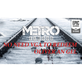 EPIC | METRO EXODUS