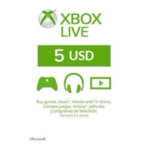 Xbox Live E Gift Card 5 Us Xbox Gift Card Gift Cards Gameflip