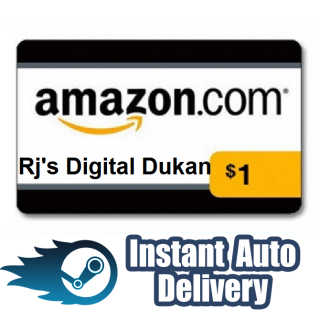 $1.00 Amazon Gift card (Instant Delivery)