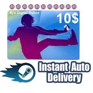 iTUNES 10 $ e-Gift Card US