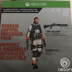 Division 2 Capital Defender Pack DLC