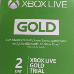 Xbox Live Gold 2 Days