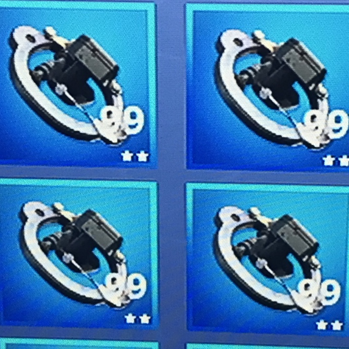 Fortnite Simple Mechanical Parts ( 4 Stacks ) - PS4 Games