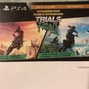 Trials Rising Expansion Pass PS4 (🔥FLASH SALE🔥)