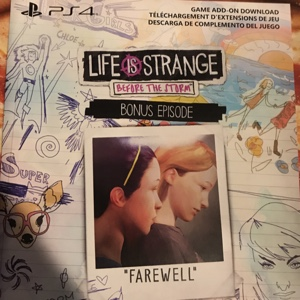 Life is strange before the storm ( bonus episode Only )