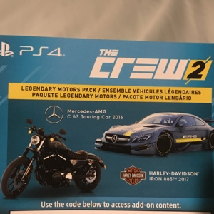 The Crew 2 ( DLC ONLY ) PS4