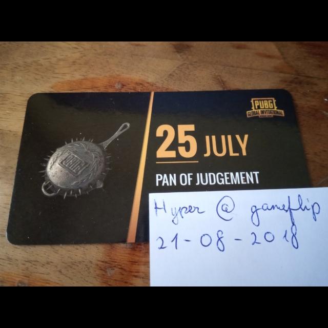 PUBG PGI Wasteland Pan Of Judgement - Other - Gameflip