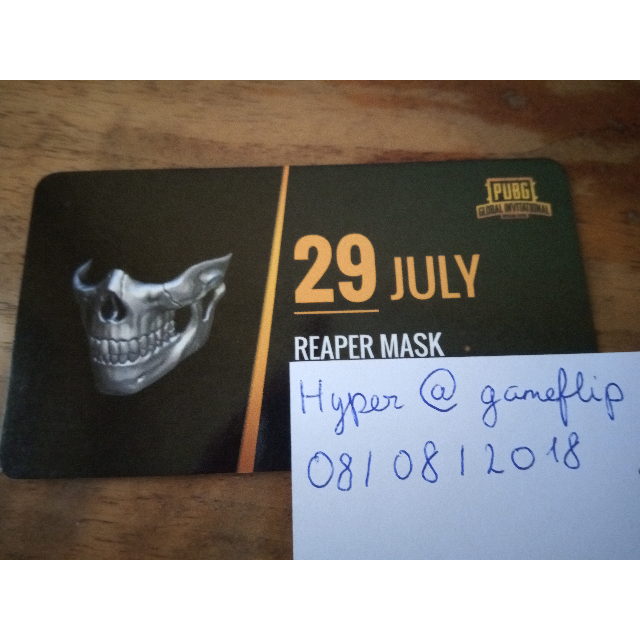 PUBG PGI Wasteland Reaper Mask - Other - Gameflip