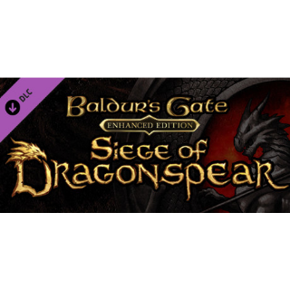 Baldur's Gate: Siege of Dragonspear Steam/Instant delivery