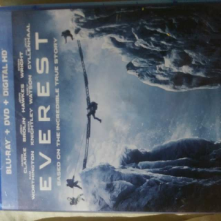 Everest Bluray Digital copy