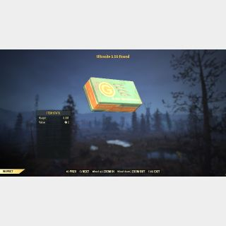 Ammo | Ultracite 5.56 Round 25k