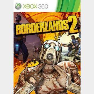 Borderlands 2 - X360 Xbox Live Key GLOBAL