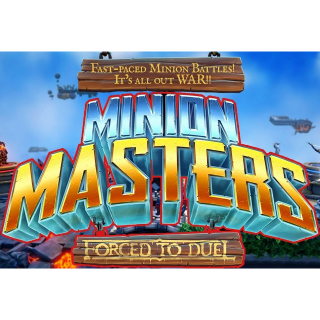 Minion Masters Steam Key [Instant Delivery]