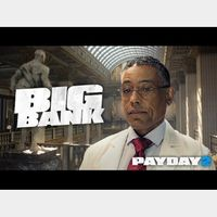 PAYDAY 2: The Big Bank Heist DLC Steam Key GLOBAL