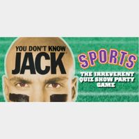 You Don't Know Jack SPORTS
