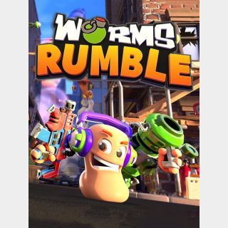 WORMS RUMBLE + LEGENDS PACK DLC -- Steam -- Instant Delivery