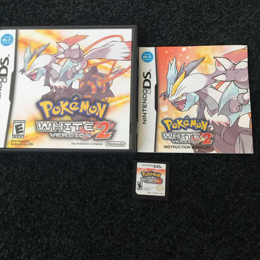 Pokémon: White Version 2 - Nintendo DS Games (Like New