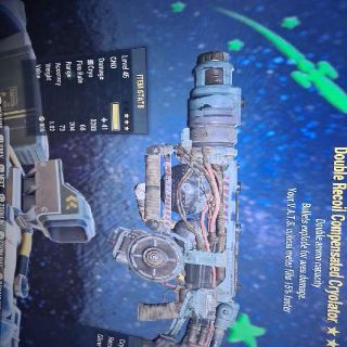 Weapon | D E Cryolator 15%