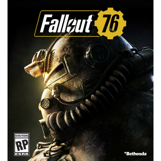 "Fallout 76 PC Bethesda Key ""EU Region"""