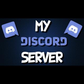 I will Build you a Custom discord server