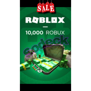 Robux Supply Robux 10 000x In Game Items Gameflip
