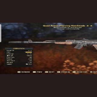 Weapon | Quad Explosive Handmade