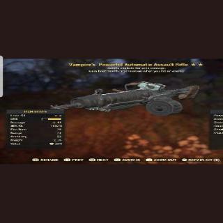 Weapon | VE Assualt Rifle