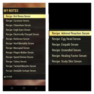 Plan | Any Serum Recipe