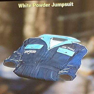 Apparel   White Powder Jumpsuit