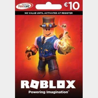 Roblox Card 10 EUR - 800 Robux Key GLOBAL
