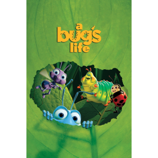 A Bug's Life HD iTunes Code (AUTO DELIVERY) (MA)
