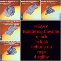 Apparel | Heavy Bolstering Cav