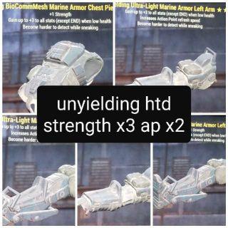 Apparel   Unyielding Htd 3S+2Ap