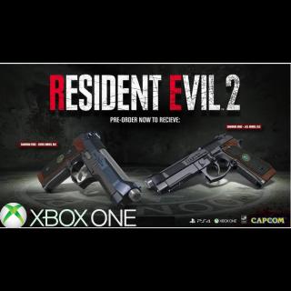 Resident Evil 2 Samurai Edge Chris & Jill, Xbox One Preorder DLC