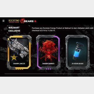 GEARS 5 ROCKSTAR SUPER EXCLUSIVE WALMART SKIN