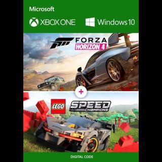 Forza Horizon 4 + Dlc Lego Xbox One/ WINDOWS 10