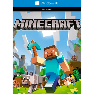 Minecraft Windows 10 Edition CDKEY  [𝐈𝐍𝐒𝐓𝐀𝐍𝐓] 🔑✅