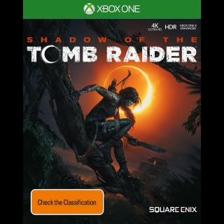 SHADOW OF TOMB RAIDER XBOX ONE CDKEY