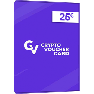 Crypto Voucher 25€ Bitcoin, Ethereum, Litecoin GLOBAL KEY 🅸🅽🆂🅰🅽🅴 OFFER!